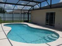 The large screened pool!